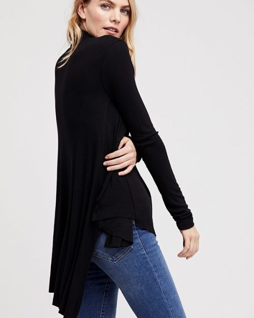 Free People Uptown Turtle Black