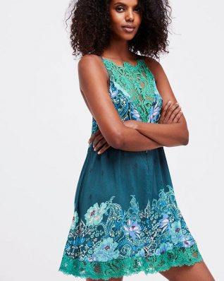 Free People How's Sorry Now Green