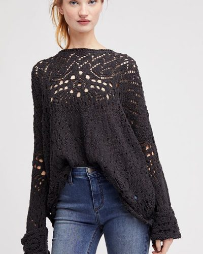 Free People Travelling Lace Pullover buy online