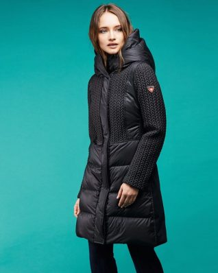 Post Card Down Coat Hazel
