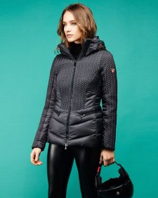 Post Card Jacket Sylvia MQ Black