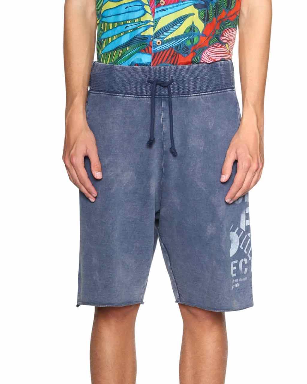 Desigual Men Cotton Shorts
