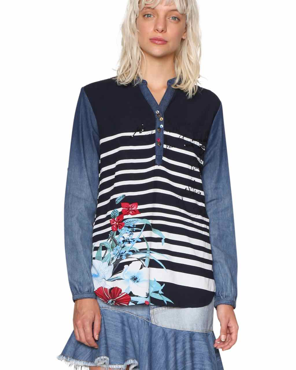 18SWBW07_5000 Desigual Blouse Judith Buy Online