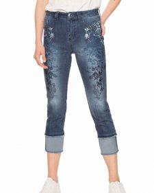 18SWDD62_5008 Desigual Capri Jeans Karen Buy Online