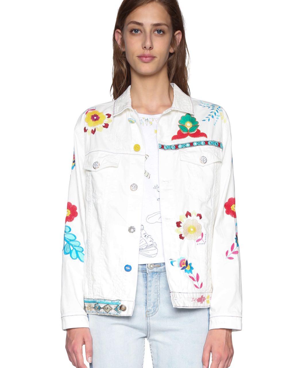 Desigual Jacket Meg White