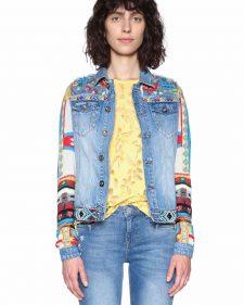 18SWED35_5160 Desigual Denim Jacket Fiorella Buy Online