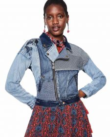 18SWED46_5183 Desigual Denim Jacket Emi Buy Online