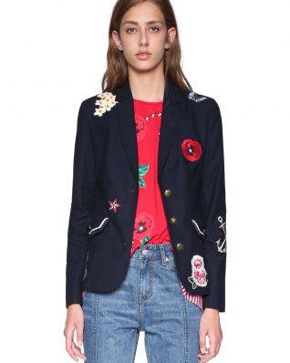 18SWEW76_5001 Desigual Jacket Megane Buy Online