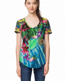 18SWTKGA_4000 Desigual T-Shirt The Logical Song Buy Online