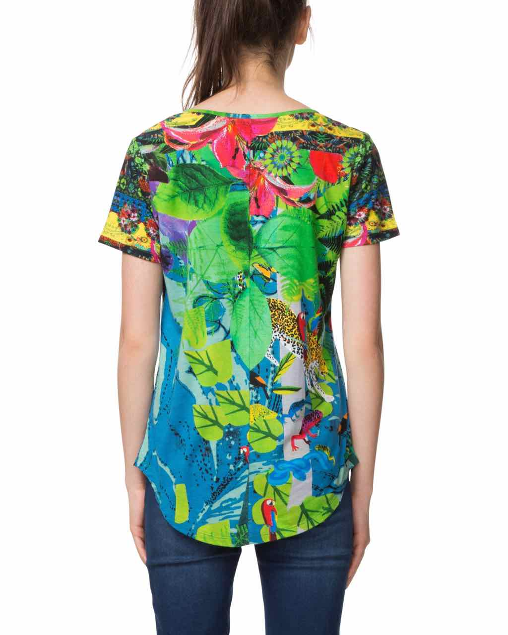 desigual t shirt the logical song 18swtkga buy online canada us. Black Bedroom Furniture Sets. Home Design Ideas