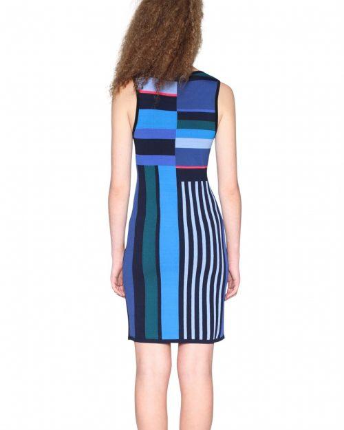 18SWVF14_5027 Desigual Dress Amico Canada