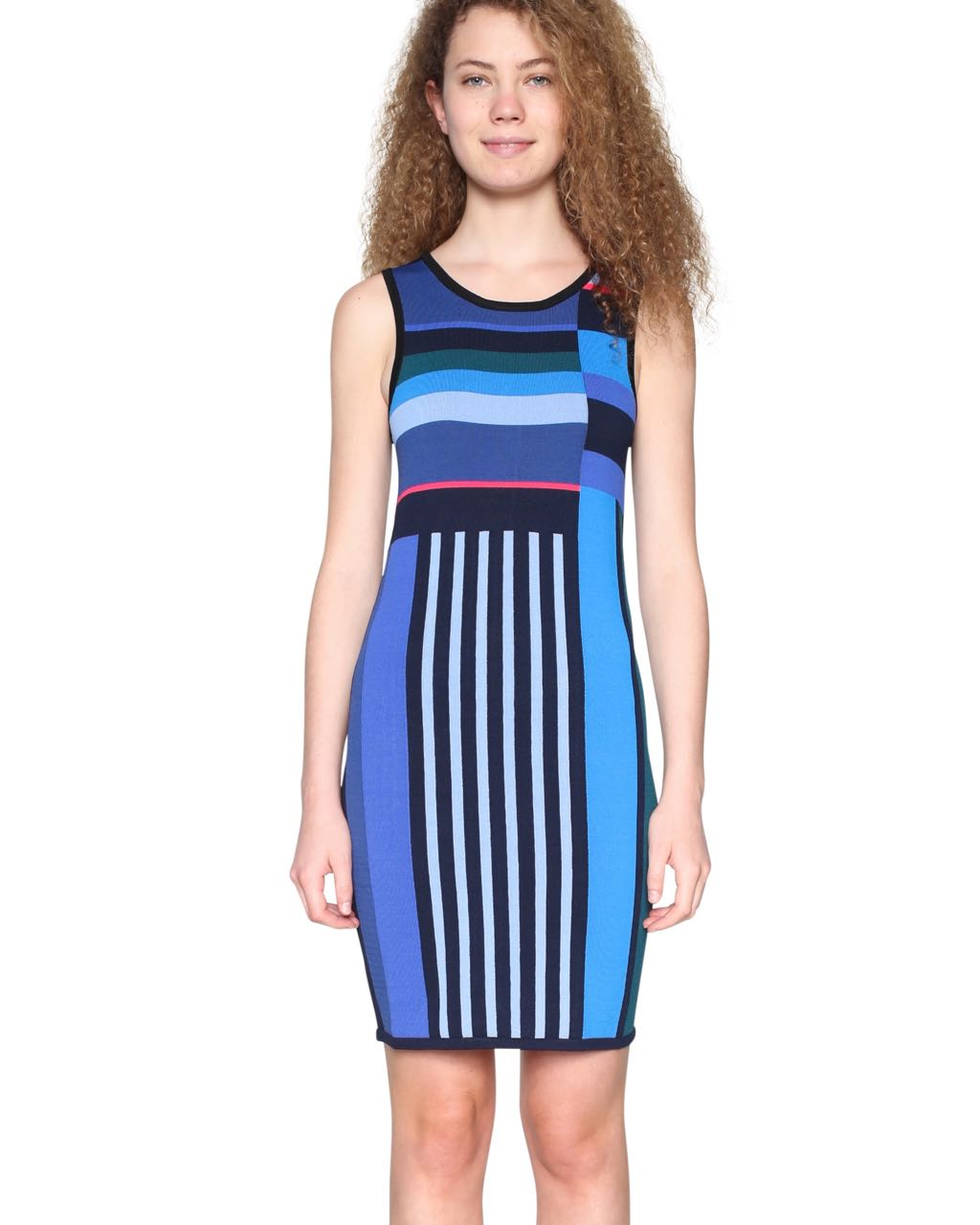 18SWVF14_5027 Desigual Dress Amico Buy Online