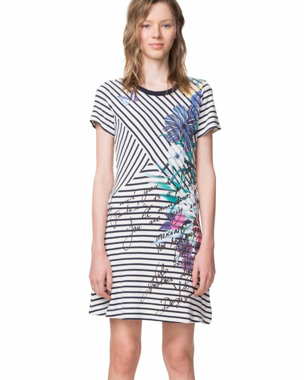 18SWVK07_1000 Desigual Dress Alfredo Buy Online
