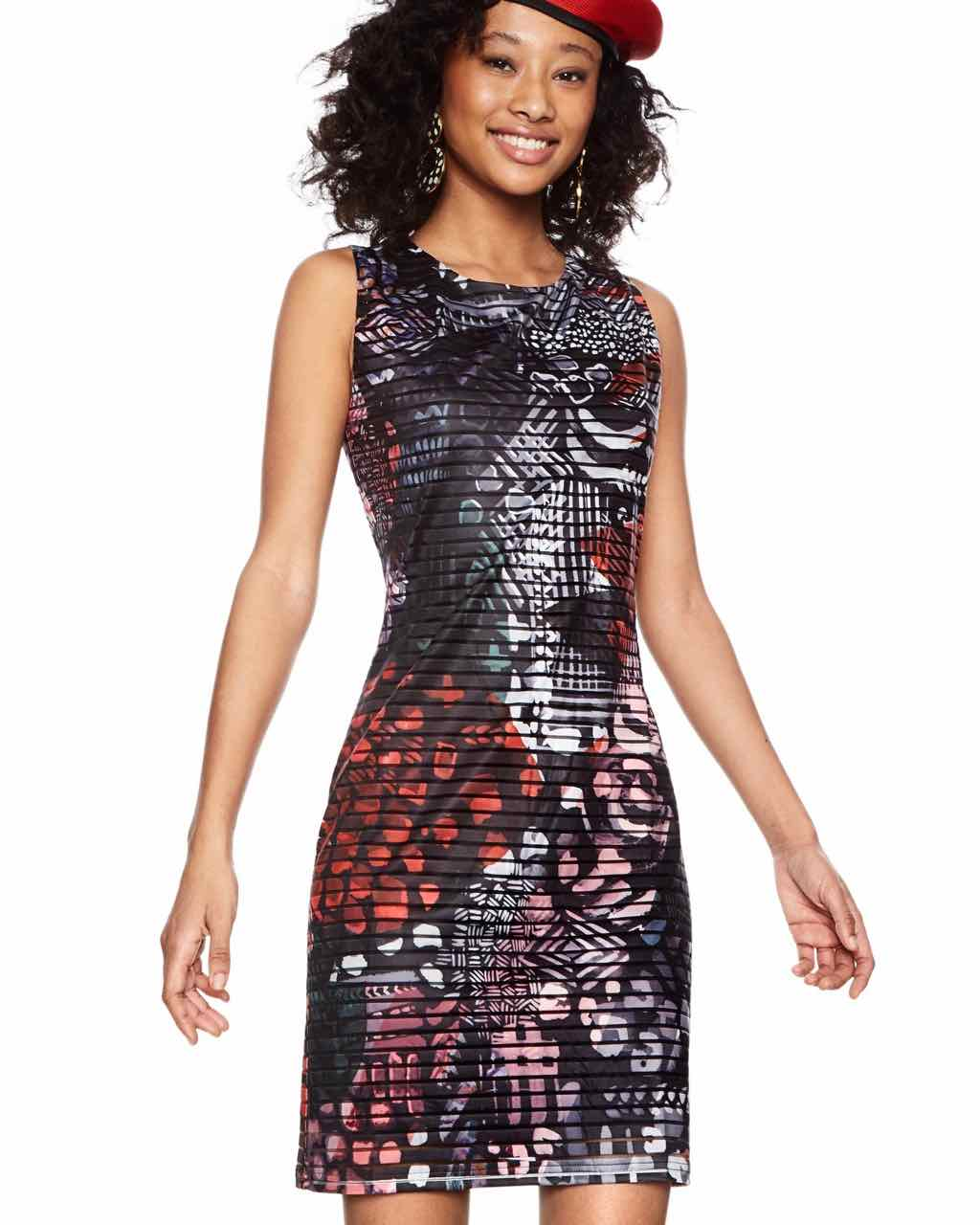 18SWVK42_2000 Desigual Dress Casey Buy Online