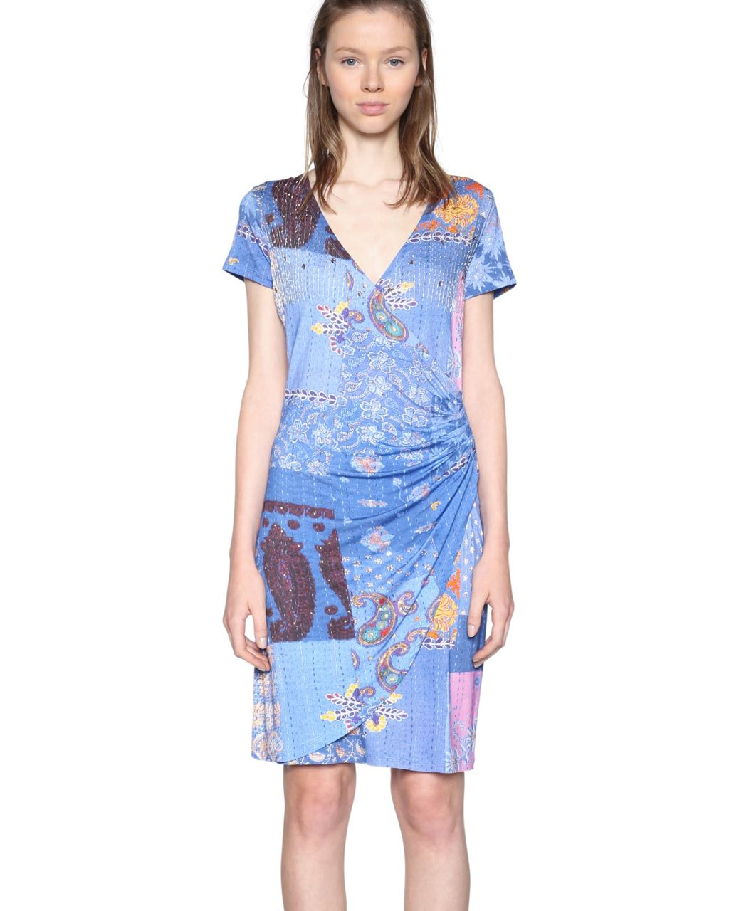 18SWVKBH_5202 Desigual Dress All of Me (blue) Buy Online