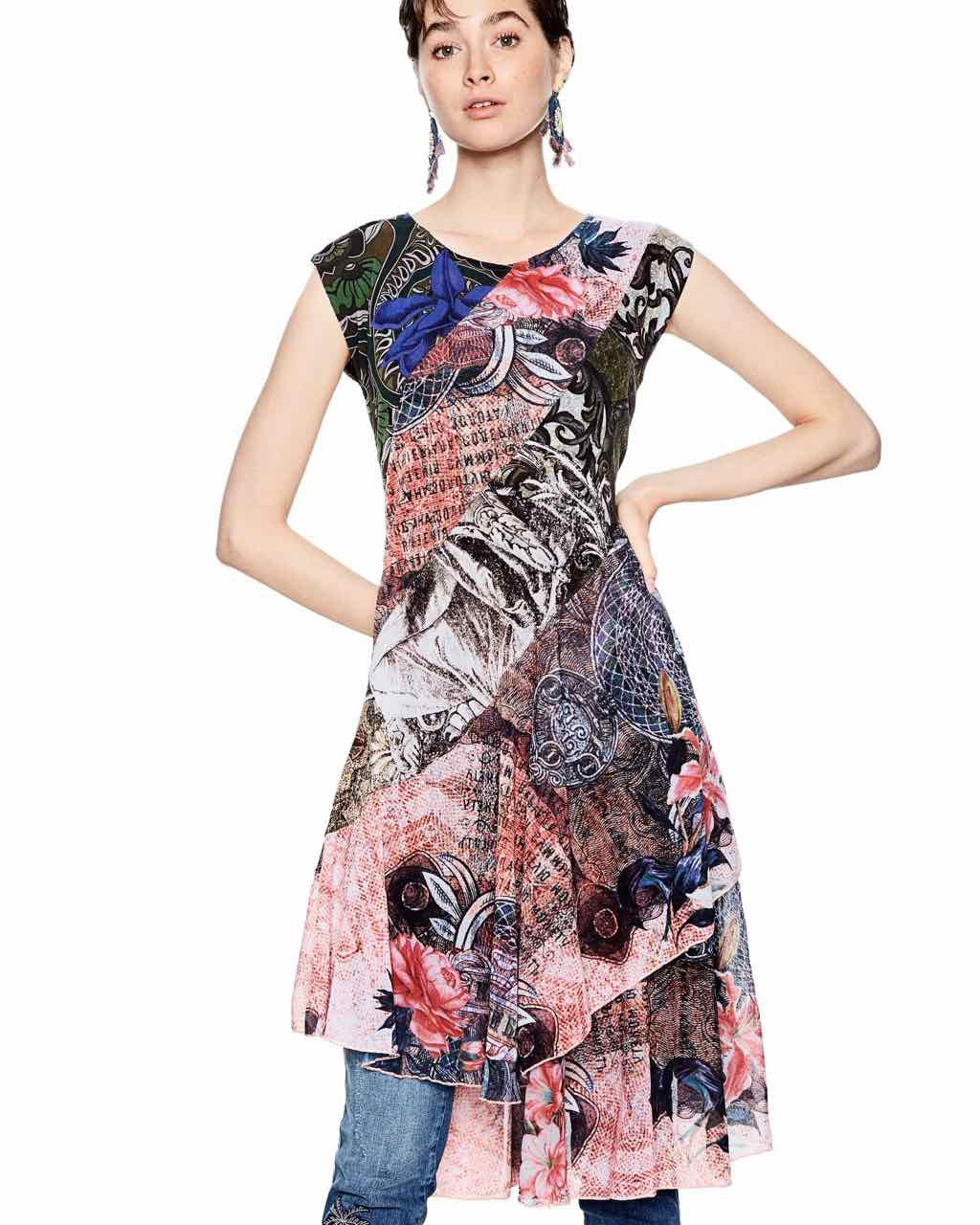 desigual dress my sweetheart fun fashion online boutique. Black Bedroom Furniture Sets. Home Design Ideas