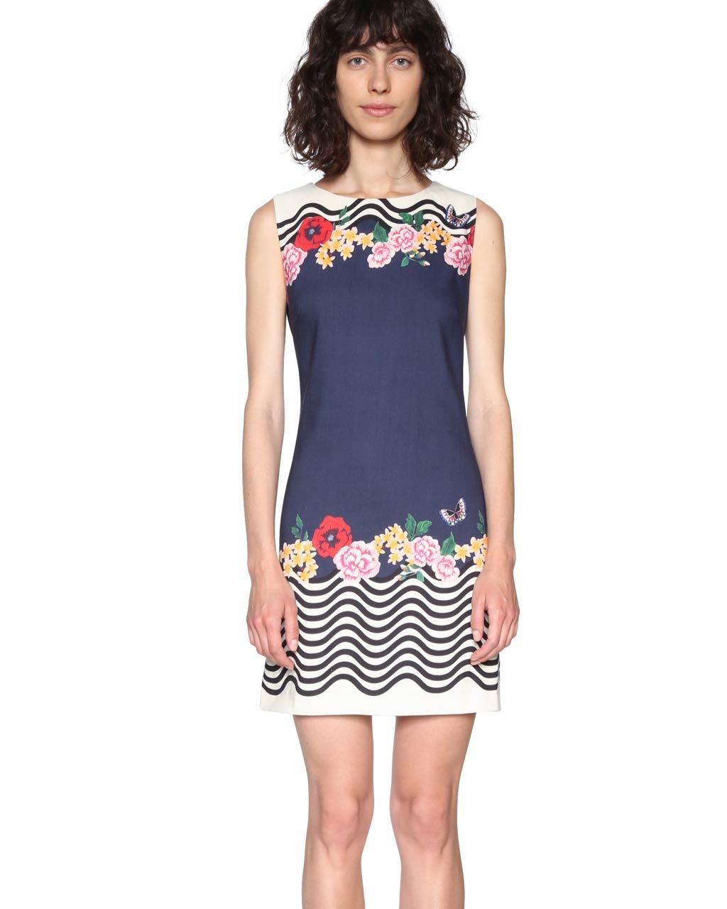 18SWVWCL_5001 Desigual Dress Prudencia Buy Online