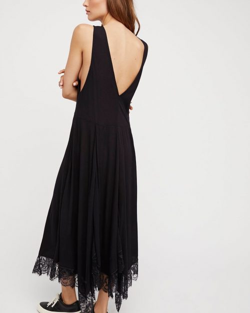 Free People Girl Like You Slip Black