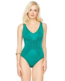 Gottex Landscape One Piece Green