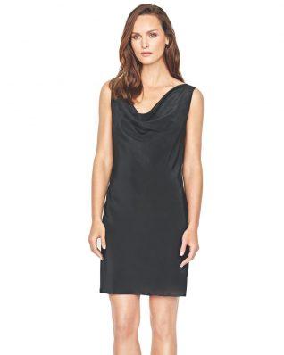 Gottex Silk Black Dress with Lace