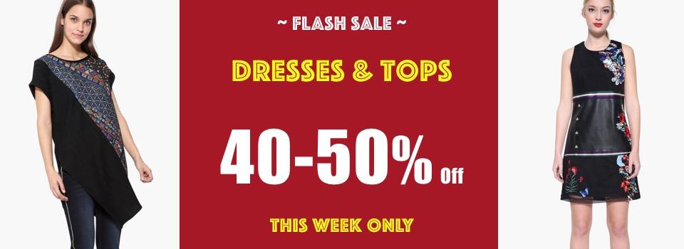 Desigual Dresses Flash Sale 40-50 Off