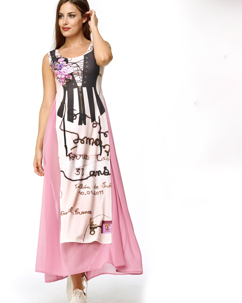 Dresses For Special Occasions Canada: IPNG Design Maxi Dress Top TEA TIME