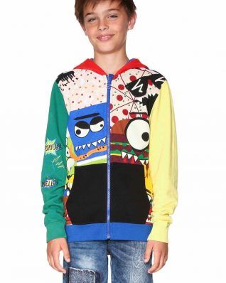 18SBSK09_5000 Desigual Boys Sweatshirt Robert Buy Online