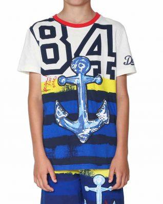 18SBTK18_1000 Desigual Boys T Shirt Urbano Buy Online