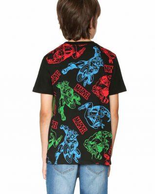 18SBTK44_2000 Desigual Boys T-Shirt Comic Canada