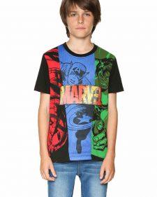 18SBTK44_2000 Desigual Boys T-Shirt Comic Buy Online