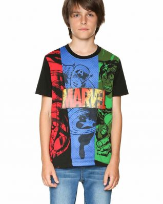 18SBTK44_2000 Desigual Boys T-Shirt Comic Buy Online