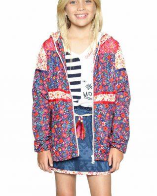 18SGEW04_5036 Desigual Girls Coat Parodia Canada