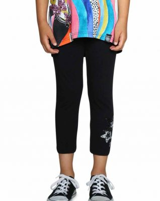 18SGKK10_2000 Desigual Girls Leggings Floral Buy Online