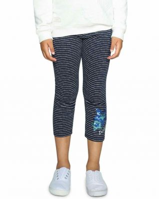 18SGKK10_5001 Desigual Girls Leggings Floral Buy Online