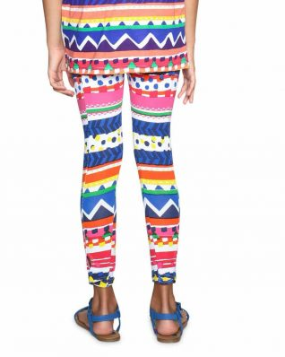 18SGKK12_3092 Desigual Girls Leggings Mashmallow Canada