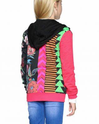 18SGSK06_2000 Desigual Girls Jacket Bocaccio Canada