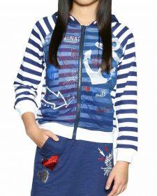 18SGSK11_5000 Desigual Girls Sweater Cela Buy Online