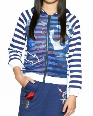 18SGSK11_5000 Desigual Girls Sweater Cela Buy Online