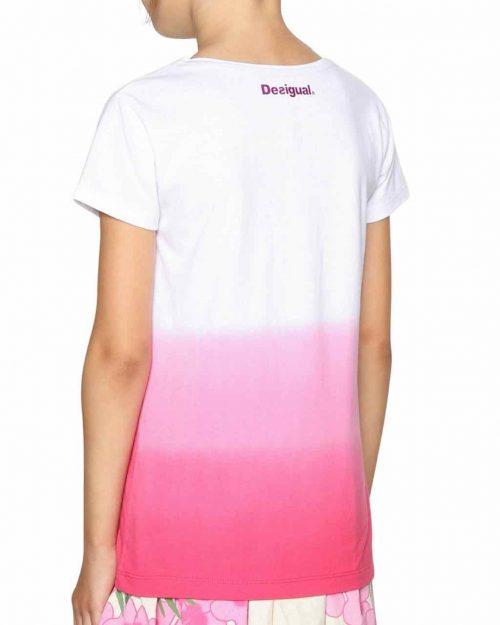 18SGTK61_3022 Desigual Girls T-Shirt Alberta Canada