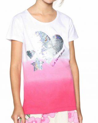 18SGTK61_3022 Desigual Girls T-Shirt Alberta USA