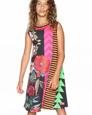 18SGVK18_2000 Desigual Girls Dress Windhoek Buy Online