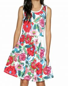 18SGVK57_1000 Desigual Girls Dress Rincmonf Buy Online