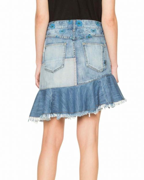 Desigual Short Denim Skirt 2018