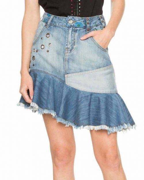 Desigual Denim Skirt