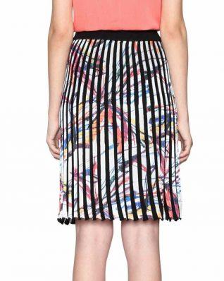 Desigual Plisse Skirt