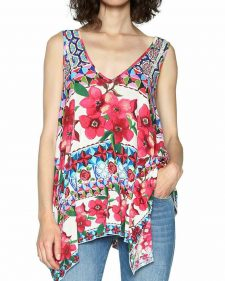Desigual Free Style Summer Top
