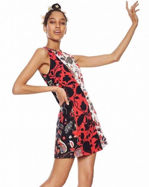 Desigual Patchwork Dress