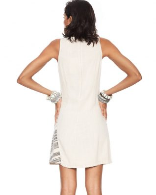 Desigual White Dress