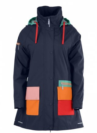 Blaest Navy Rain Coat
