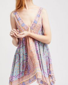 Free People Slip Gypsey Trapeze